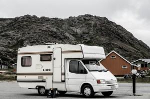Ottmari- en bobil her på vei til Nordkapp