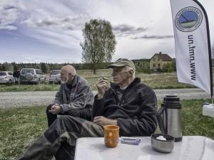 Kaffehygge i skyggen av Ottmari (Foto Per Sibe)
