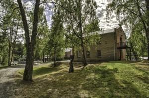 Kistefos-museet på Jevnaker (Foto: Per Sibe)