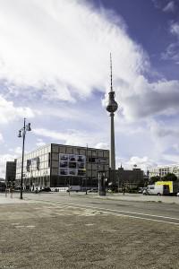 Tv-tårnet i Berlin (Foto: Per Sibe)